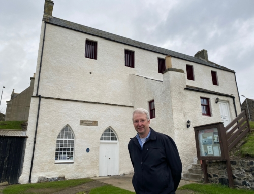 Portsoy's maritime past preserved with major refurbishment of historic Salmon Bothy